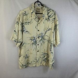 Tommy Bahama Men's Short Sleeve Hawaiian Silk Flor